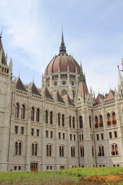 ブダペスト国会議事堂2015-8