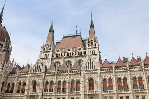 ブダペスト国会議事堂2015-9
