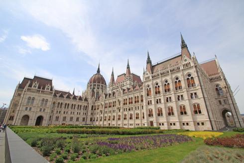 ブダペスト国会議事堂2015-11