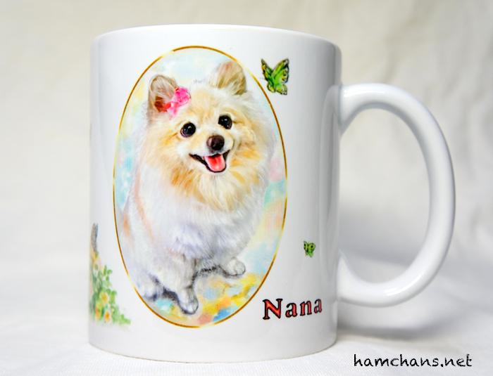 ペットのイラストマグカップ3