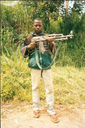 コンゴ子ども兵