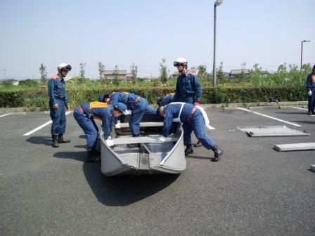 1水難救助訓練