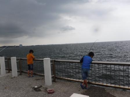 1釣りと海水浴