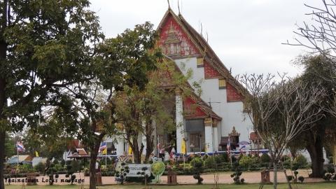 Wihan Phra Mongkhon Bophit Temple, Ayutthaya,Thailand