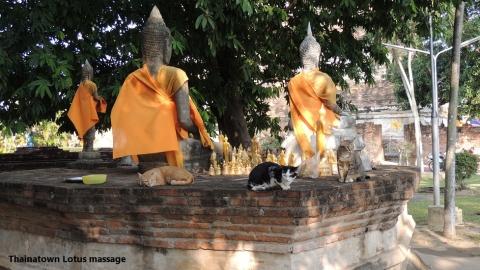 Wat Yai Chaimongkhon,Ayutthaya,Thailand
