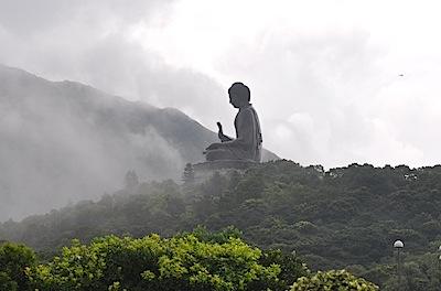 ランタオ島の大仏