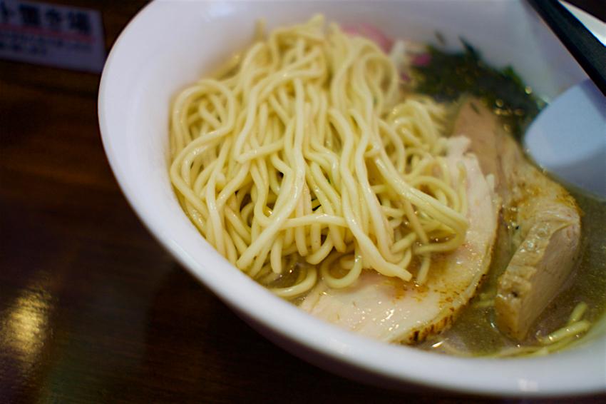 煮干し中華蕎麦 山崎@小山市東通り 淡麗煮干し中華蕎麦2