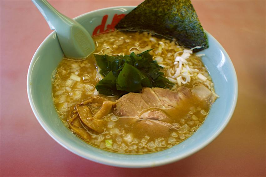 ラーメン山岡家 壬生店@壬生町安塚 煮干し醤油らーめん1