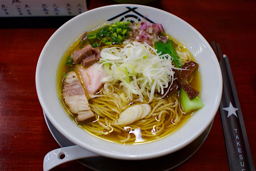 BARRACK D.M 竹末@鹿沼市西茂呂 鶏出汁麺