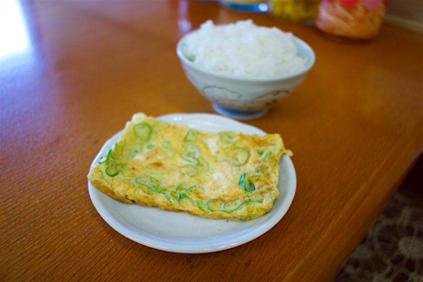 ラーメンショップ結城東店@茨城県結城市 2 焼き卵+ライス