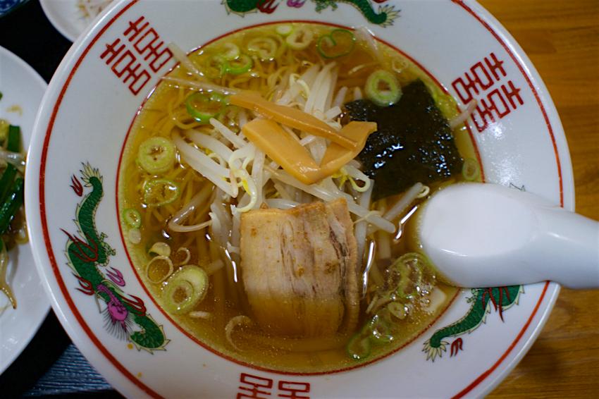 龍福餃子店@鹿沼市千渡 醤油ラーメン