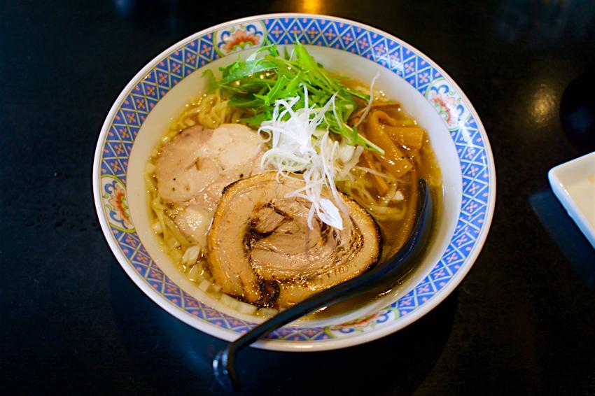 栃木軍鶏麺 十人十色@小山市小山 軍鶏らーめん1