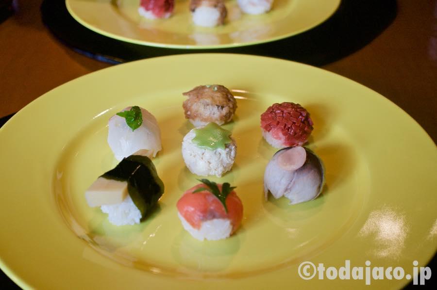 つまみ寿司
