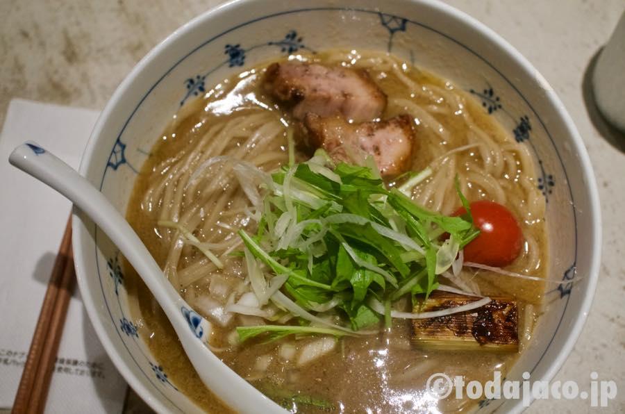 濃厚スープのラーメン