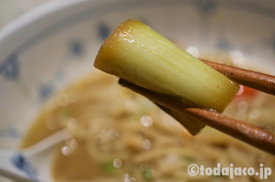 ネギは京都では珍しい根深葱