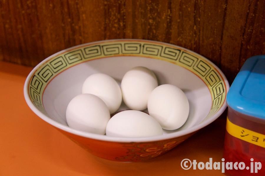 ゆで卵はお好みで