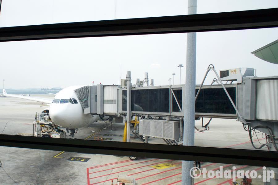 成田から乗ってきたA330-200