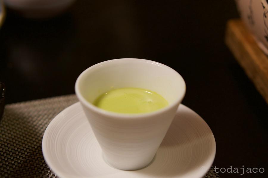 箸休めのグリーンポタージュ