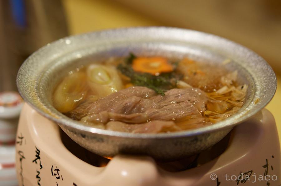 鍋物 和牛すき焼き 白菜、春菊、榎茸、葱、人参