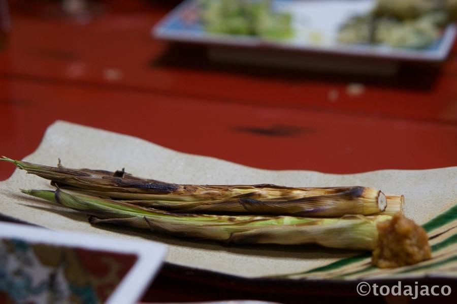 月山筍(ネマガリダケ)の焼き物