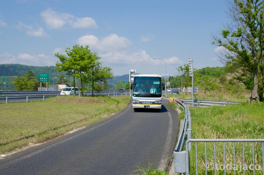 またもやバスで仙台駅へ向かいます