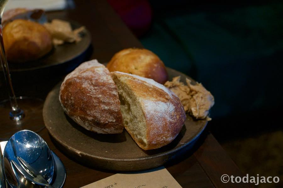 自家製のあのパンとあのリエット