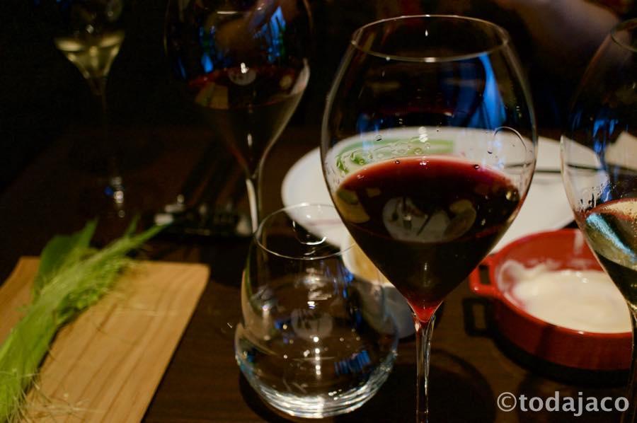 赤ワインも