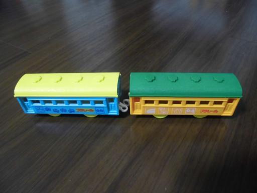 新色の客車