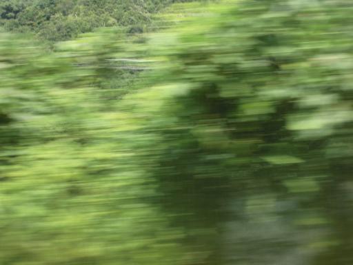 米坂線車窓