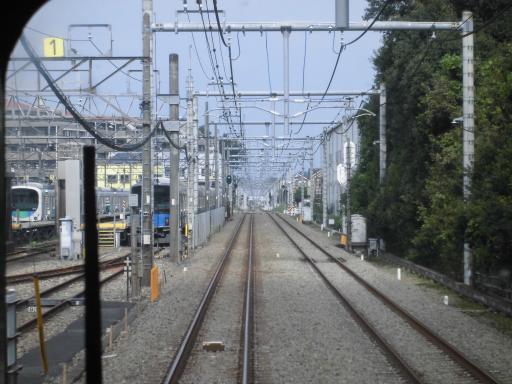 西武新宿線車窓