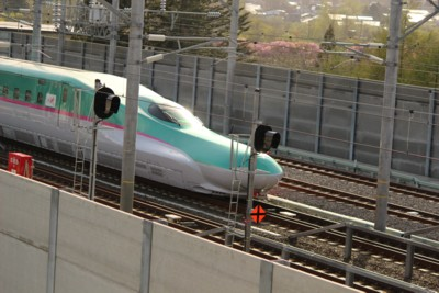 新幹線先頭