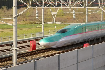 新幹線後ろ