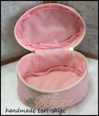 内側ナイロンのピンク