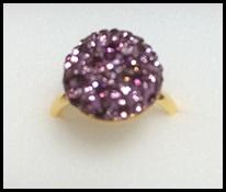 指輪ピンク系