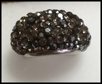 指輪ブラック系