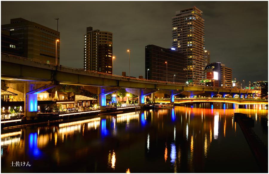 大阪の街灯り2