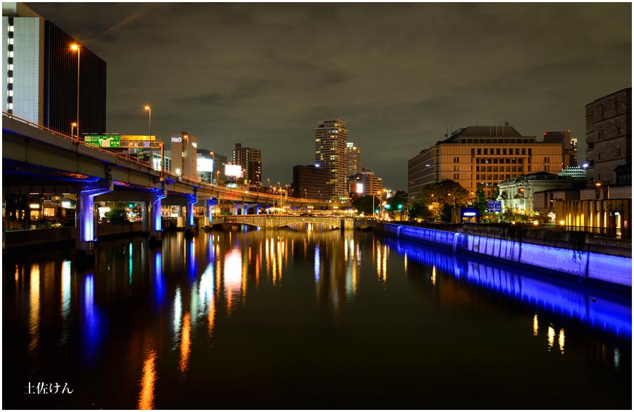 大阪の街灯り3