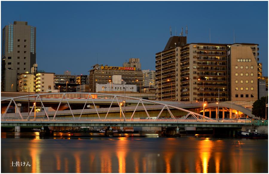 大阪の街灯り1