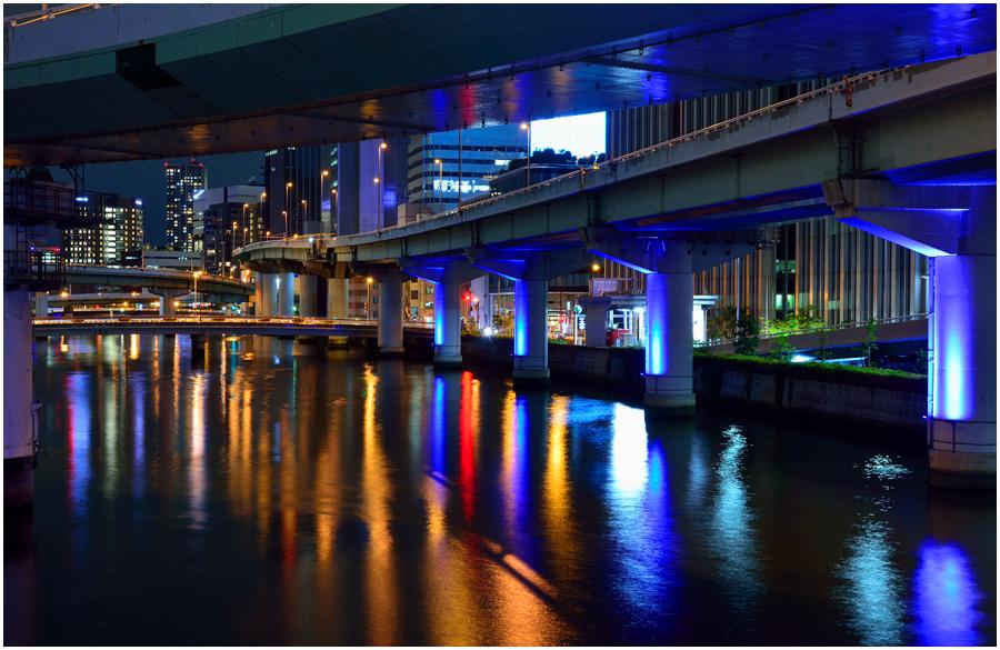 大阪の街灯り・助手4