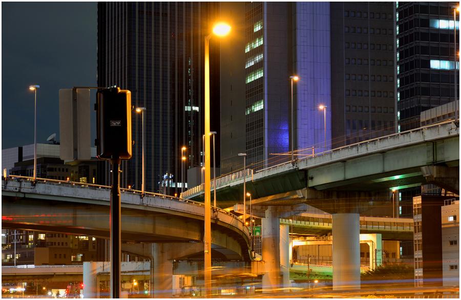 大阪の街灯り・助手3
