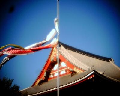 鯉のぼり・浅草寺:Entry