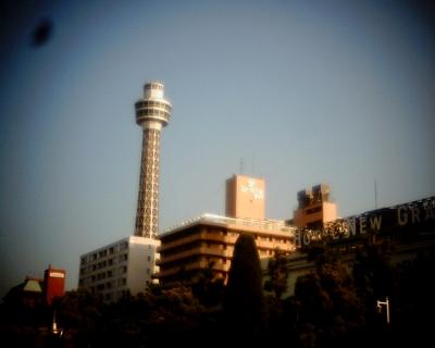 横浜マリンタワー・山下公園:Entry