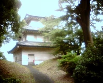 富士見櫓:皇居東御苑・Entry