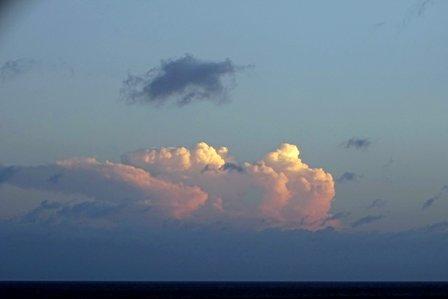 西の朝焼7月13日 DSC07467