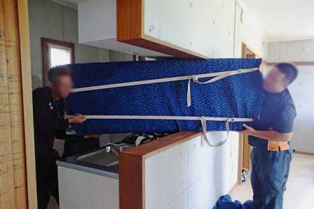 冷蔵庫搬入 DSC07564