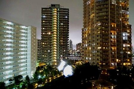 夜の摩天楼 DSC08142
