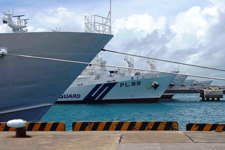 巡視船避難中 DSC08798