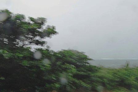 台風16号通過中 DSC08855