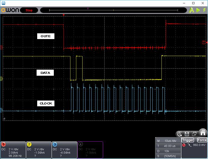 タッチレジスター(センサーマイコン換装)ホストI/F波形6