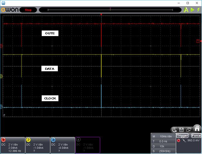 タッチレジスター(センサーマイコン換装)ホストI/F波形7